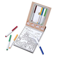 Magic-Pattern - Wild Animals Coloring Pad - On the Go Travel Activity