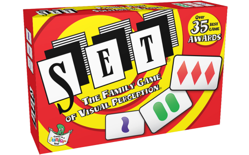 Set, The Family Game of Visual Perception