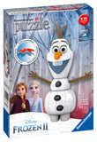 Disney Frozen 2 Olaf Shaped 3D Jigsaw Puzzle, 54pc by Ravensburger