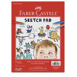 Faber-Castell Sketch Pad 9'' x 12''