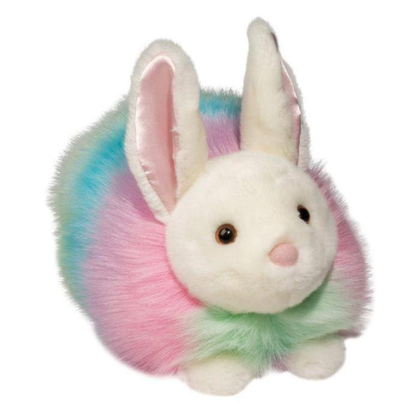 Pastel Rainbow Bunny, Large plush by Douglas 14581