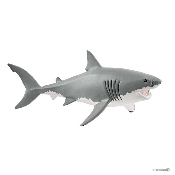 GREAT WHITE SHARK 14809 Schleich Animal Figure