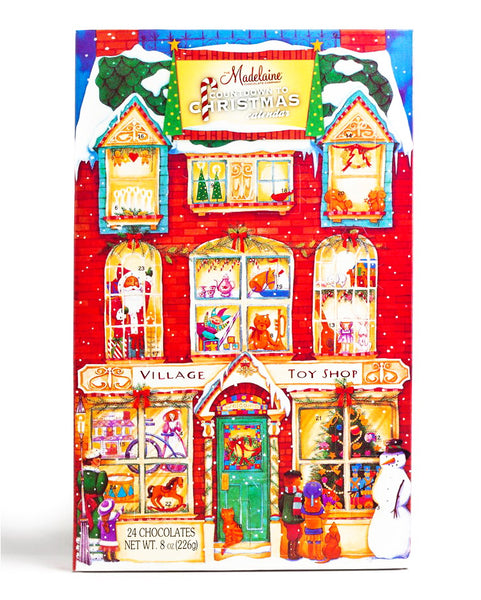 Village Toy Shop Countdown to Christmas Calendar