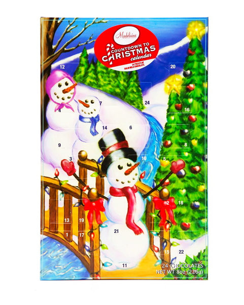 Christmas by the Creek Snowman Countdown to Christmas Advent Calendar