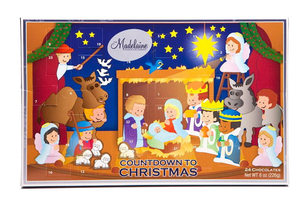 CHRISTMAS PAGEANT (NATIVITY) COUNTDOWN ADVENT CALENDAR