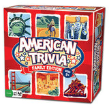 American Trivia Family Edition Board Game