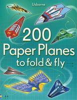200 Paper Planes to Fold & Fly - an Activity Book by Usborne