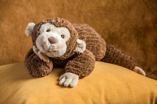 Cozy Toes Monkey Plush 17″