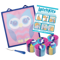 Owl LatchKits Mini-Rug Sewing Kit