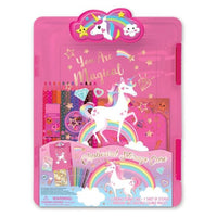 Unicorn Clipboard & Notebook Set