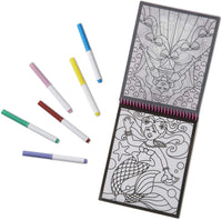 On the Go Stained Glass Coloring Pad - Fairy Tale