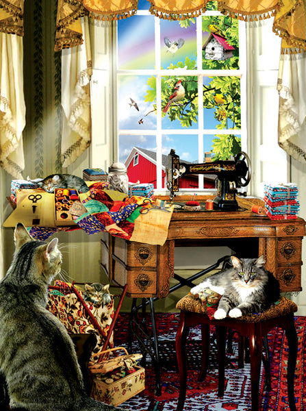 The Sewing Room, 1000pc Puzzle