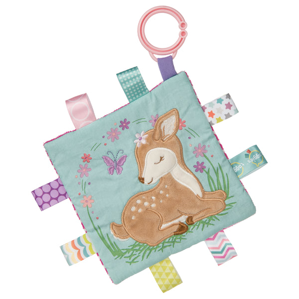 Taggies Crinkle Me Flora Fawn – 6×6″
