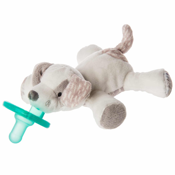 Decco Pup Dog WubbaNub Pacifier with attached Lovey