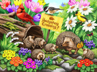 Hedgehog Crossing, 1000pc Puzzle