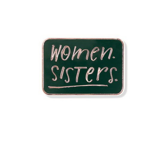 WOMEN SISTERS PIN, ENAMEL
