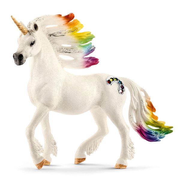 Rainbow Unicorn Stallion - Schleich Fantasy Animal Figure 70523