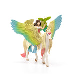FAIRY SURAH WITH GLITTER PEGASUS 70566 Schleich Animal Figure