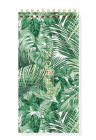 FRINGE STUDIO RAINFOREST TALL SPIRAL NOTEPAD, 4X8
