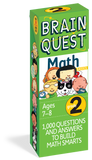 Brain Quest Grade 2 Math Card Deck