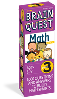 Brain Quest Grade 3 Math Card Deck