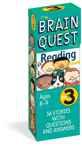 Brain Quest Grade 3 Reading Card Deck