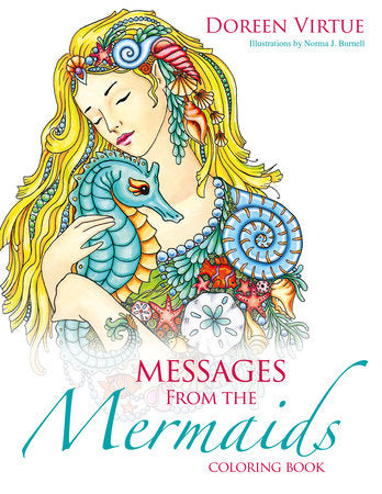 Messages from the Mermaids Coloring Book (an adult coloring book)