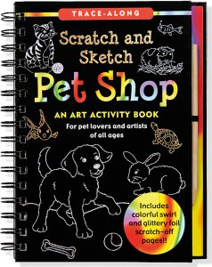 PET SHOP SCRATCH AND SKETCH TRACE-ALONG