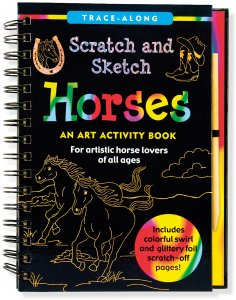 HORSES SCRATCH AND SKETCH
