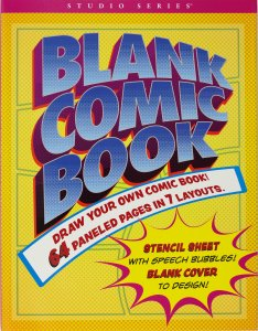 BLANK COMIC BOOK - Draw and Write Your Own Comic!