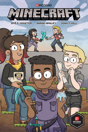 Minecraft Volume 1 (Graphic Novel) By R. SFÉ MONSTER