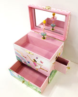 Ballerina Dancer Jewelry Chest 3 Drawers