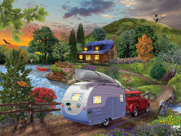 Campers Coming Home, 1000pc Puzzle