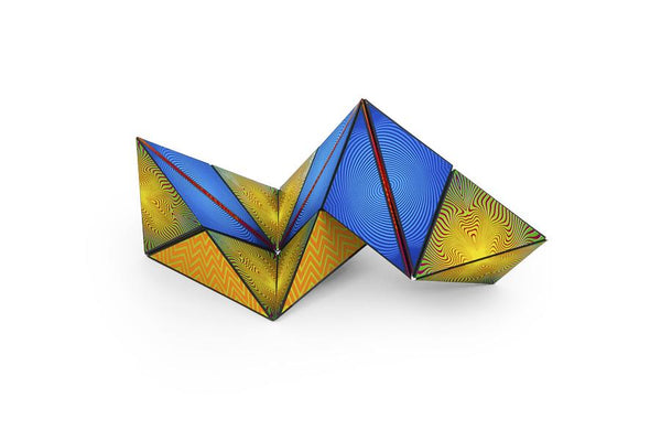 Shashibo - Optical Illusion Magnetic Shape Shifter Cube Transforms into 70 Shapes