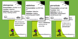 SAT Vocabulary WordTeasers (Educational Conversation Starter Cards)