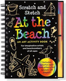 AT THE BEACH SCRATCH & SKETCH