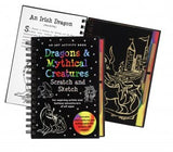 DRAGONS & MYTHICAL CREATURES SCRATCH AND SKETCH