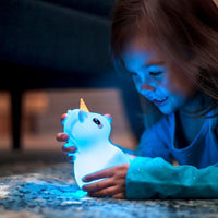 UNICORN LumiPets® Bluetooth Soothing Nightlight with Remote Control, Rechargeable