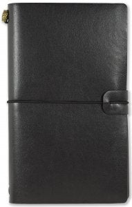BLACK VOYAGER NOTEBOOK REFILLABLE