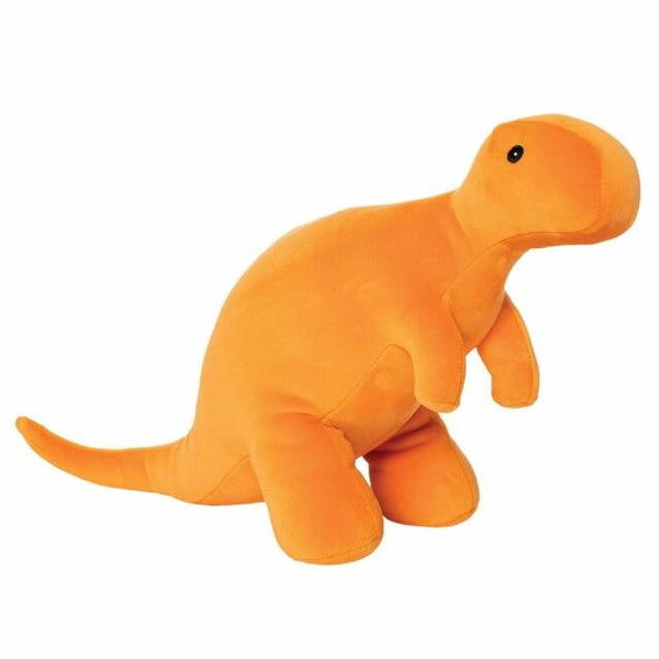 "Velveteen Dino Growly T-Rex Dinosaur 14"" Plush by Manhattan Toys"
