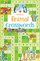 Animal Crosswords by Usborne