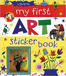 My First Art Sticker Book - an Activity Book by Usborne