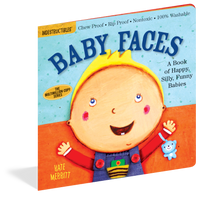 Indestructibles Baby Book: Baby Faces