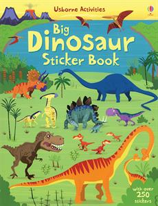 Big Dinosaur Sticker Book - an Activity Book by Usborne