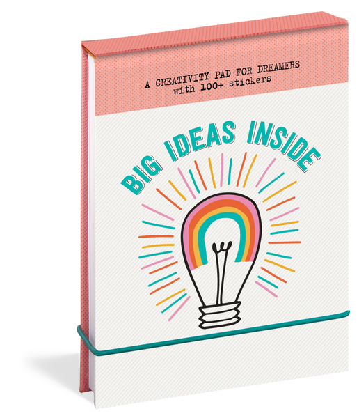 Big Ideas Inside A Creativity Pad for Dreamers