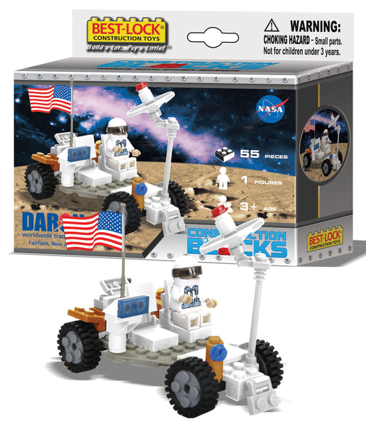 NASA Space Buggy 103 piece Best Lock Building Construction Set