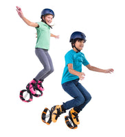 Indoor/Outdoor Bouncy Jumping Shoes - Lg Fits Shoes Size 5-7 Youth