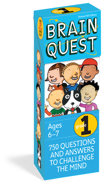 Brain Quest Grade 1 - 750 Questions and Answers to Challenge the Mind