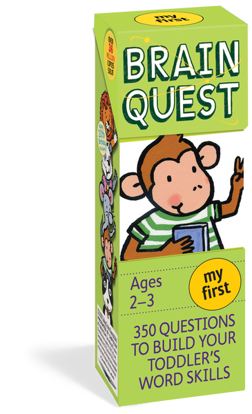 My First Brain Quest for 2-3 year olds - 350 Questions and Answers to Build Your Toddlers Word Skills