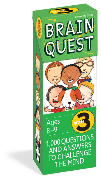 Brain Quest Grade 3 - 1,000 Questions and Answers to Challenge the Mind